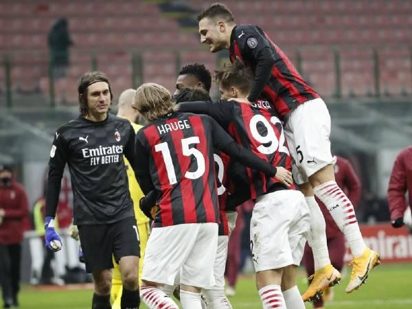 Bóng đá quốc tế sáng 13/1: AC Milan lọt vào Tứ kết Coppa Italia